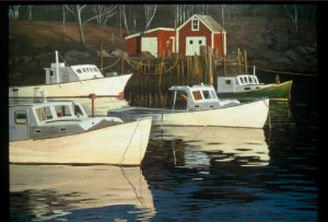 Richard Reminger Artist Painting